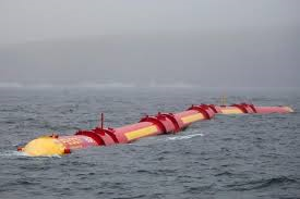 Pelamis wave power device