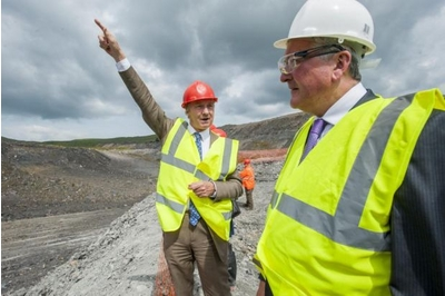 The Duke of Buccleuch and Fergus Ewing at Glenmuckloch