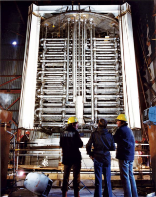 High-level nuclear waste tank at Sellafield