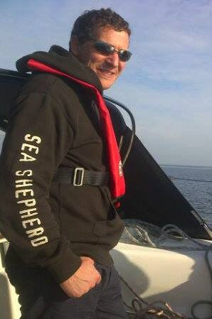 Rob Read (photo from Sea Shepherd)